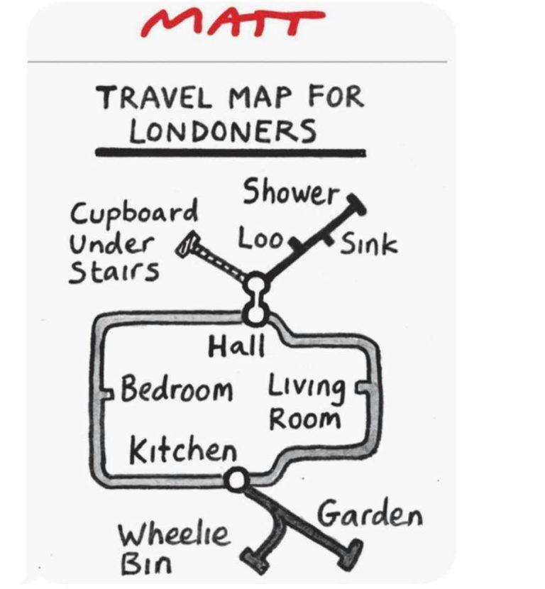 Matt's Travel Map for Londoners